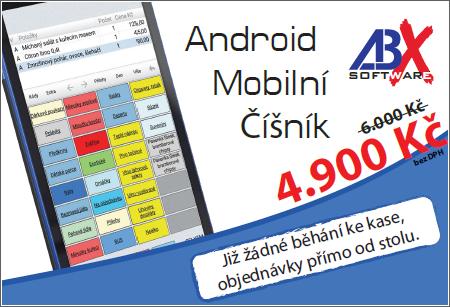 Akce mobilní číšník