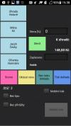 Aplikace do mbilu Harsys mobilní číšník zaplacení účtu
